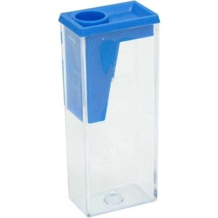 Ořezávátko Faber-Castell plastové se zásobníkem - mix barev