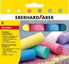 Chodníkové křídy Eberhard Faber - 6ks