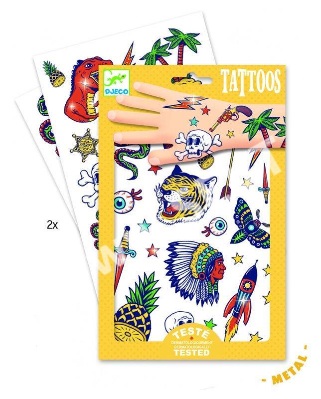 DJECO Tetování - Bang bang - SEVT.cz a166441394