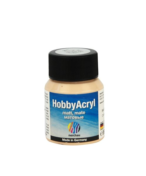 Hobby Acryl matt Nerchau - 59 ml - barva pleti