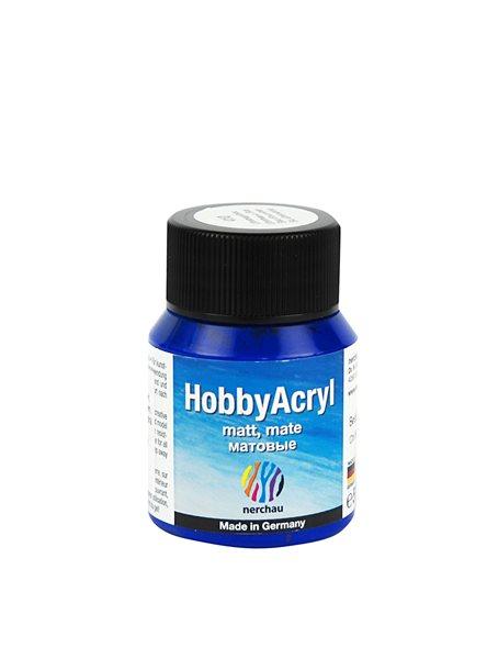 Hobby Acryl matt Nerchau - 59 ml - blankytně modrá
