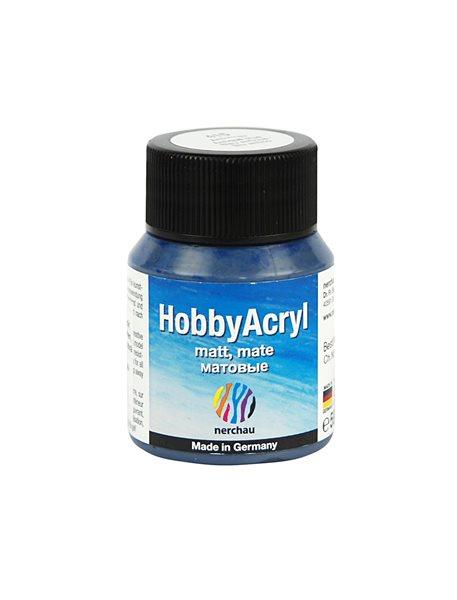 Hobby Acryl matt Nerchau - 59 ml - antik modrá