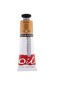 Olejová barva Daler-Rowney 38 ml - sytá zlatá