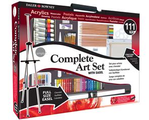 Velká sada Complete Art Set - 111 ks