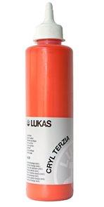 """Akrylová barva LUKAS """"Cryl Terzia"""" 500ml - kadmium oranžová"""