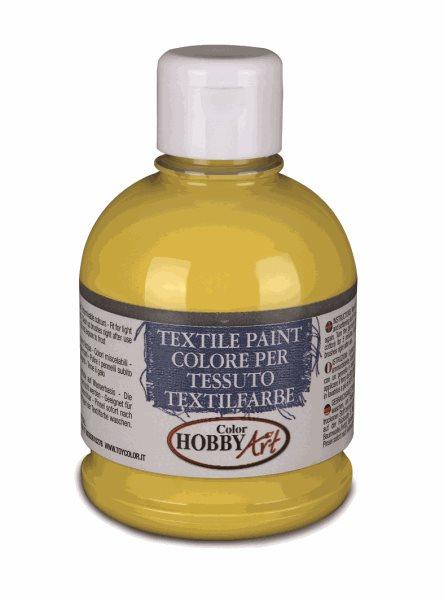 Barva na textil Color Hobby Art, 250ml - žlutá