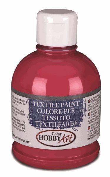 Barva na textil Color Hobby Art, 250ml - červená