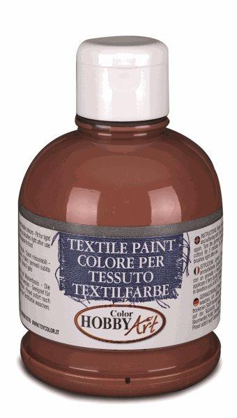 Barva na textil Color Hobby Art, 250ml - hnědá