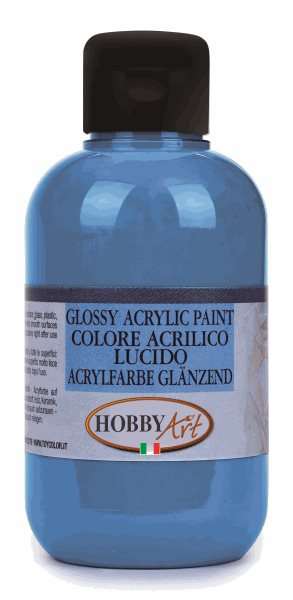 Akrylová barva Hobby Art, lesklá 50ml - modrá