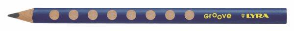 Grafitová tužka Lyra GROOVE JUMBO, trojhranná, tvrdost tuhy HB