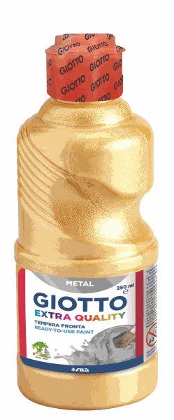 Temperová barva Giotto metalická 250 ml - zlatá