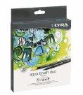 Sada uměleckých fixů LYRA Aqua Brush Duo 24 ks
