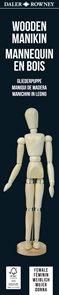 Daler Rowney dřevěná figurína - ŽENA
