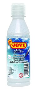 Lak bezbarvý lesklý glitrový JOVI - 250 ml