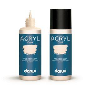 Akrylová barva DARWI ACRYL OPAK 80 ml, tělová