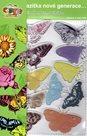 Gelová razítka - motýl