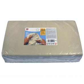 Keramická hmota Plus bez výpalu - 10 kg bílá