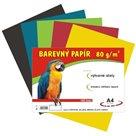 Barevný papír A4 80g - 100 ks - 5 barev