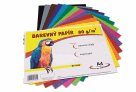 Barevný papír A4 80g - 60 ks - 12 barev