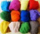 Novozélandské merino-fleece, mix barev, 12 barev, 100g