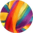 Australská ovčí vlna merino, Multicolor - colored (fine), 20g