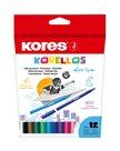 Kores Dětské fixy Korellos - 12 barev