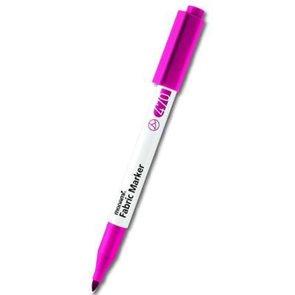 Popisovač na textil Fabric Marker - fluo růžová