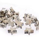 Dekorační dřevěné hvězdy (48ks)