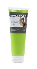 Akrylová barva Molenaer 250 ml - zelená