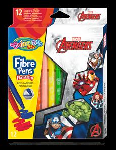 Fixy Colorino, Marvel Avengers - 12 barev