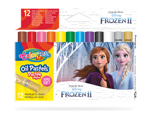 Olejové pastely Colorino, Disney Frozen - 12 barev
