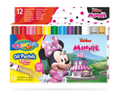 Olejové pastely Colorino, Disney Junior Minnie - 12 barev