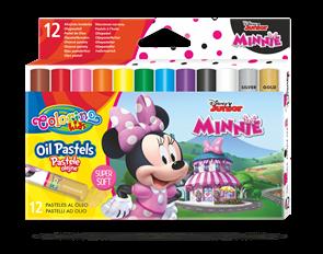 Olejové pastely Colorino, Disney Junior Minnie - 12 barev
