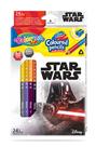 Pastelky Colorino trojhranné, Star wars - 24 barev
