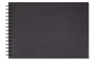 Skicák Shady, A3 na šířku, 40 černých listů/200 g