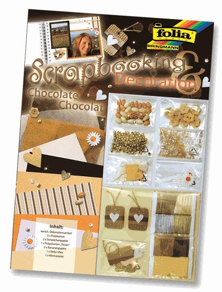 "Scrapbooking sada ""čokoláda"""