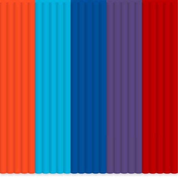 3Doodler Náhradní tyčinky ABS - mix barev Bohemian Blend