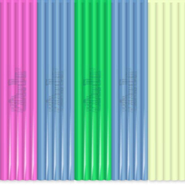 3Doodler Náhradní tyčinky PLA - mix barev Clearly Awesome