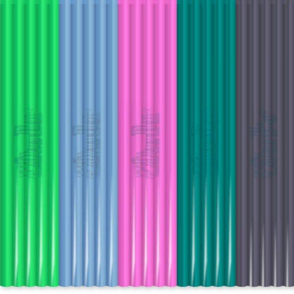3Doodler Náhradní tyčinky PLA - mix barev Clearly Springtime