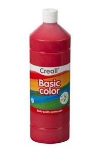 Temperová barva Creall - 1 L - červená