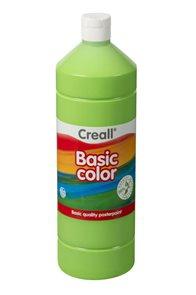 Temperová barva Creall - 1 L - světle zelená