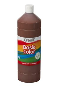 Temperová barva Creall - 1 L - tmavě hnědá