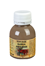 Křídová VINTAGE barva - tmavá kávová, 110 g