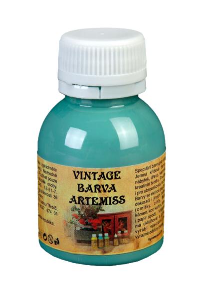 Křídová VINTAGE barva - tyrkysová, 110 g