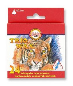 Koh-i-noor trojhranné voskovky 8274 - 24 barev