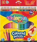 Trojhranné pastelky Colorino - 24 barev