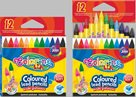 Pastelky Colorino bezdřevé - 12 barev