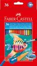 Pastelky Faber-Castell Akvarelové pap.krabička 36ks + štěteček