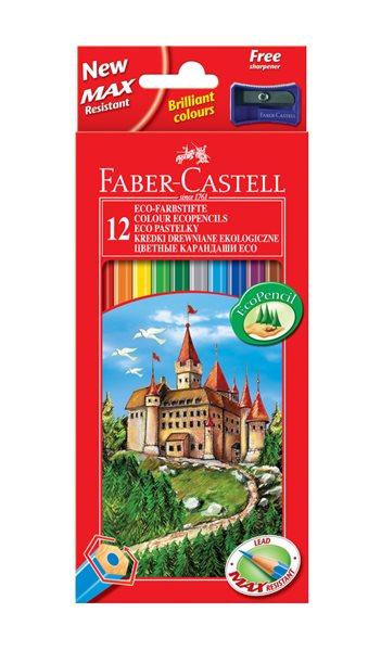 Pastelky Faber-Castell šestihranné, pap.krabička 12ks
