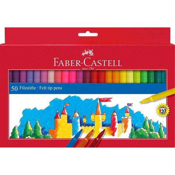 Fixy Faber-Castell - kulaté, 50ks